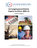 U.S. Congressional District Exports to China: 2002-11 (2012)