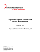 Impact of Imports from China on U.S. Employment (2005)