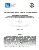 "Study on the Economic Impact of ""TRIPS-Plus"" Free Trade Agreements (2011)"