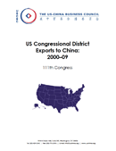 U.S. Congressional District Exports to China: 2000-09 (2010)
