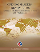 Opening Markets, Creating Jobs: Estimated U.S. Employment Effects of Trade with FTA Partners (2010)