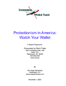 Protectionism in America: Watch Your Wallet (2003)