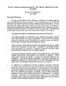 """U.S. Textile and Apparel Industries: The """"Wizard"""" Behind the Curtain Revealed (2005)"""