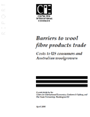 Barriers to Wool Fibre Products Trade: Costs to US Consumers and Australian Woolgrowers (1999)