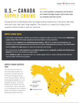 Economic Impact of U.S.-Canada Supply Chains (2016)