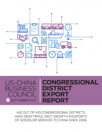 US – China Business Council Congressional District Export Report (2017)