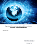 Technology CEO Council Report on U.S. ICT Exports Released (2014)