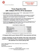 Vietnam PNTR and WTO Accession State Studies (2006)