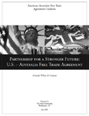 Partnership for a Stronger Future: U.S.-Australia Free Trade Agreement (2003)