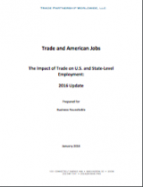 Trade and American Jobs: The Impact of Trade on U.S. and State-Level Employment Update (2016)