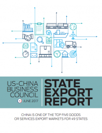 US – China Business Council State Export Report (2017)