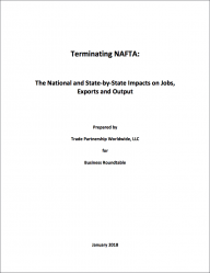 Terminating NAFTA: The National and State-by-State Impacts on Jobs, Exports and Output (2018)