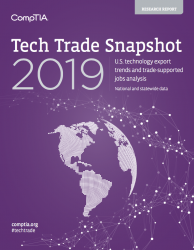 CompTIA Tech Trade Snapshot (2019)