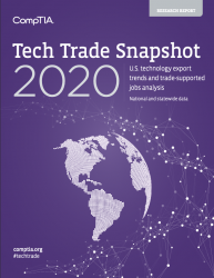 CompTIA Tech Trade Snapshot (2020)